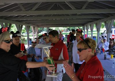 "Presentation of the Tacky Trophies to the Womens and Mens division winners of the CCCC ""Air Show"""