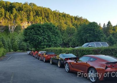 Vettes Parked